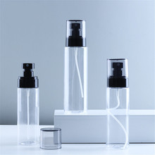 100/120/150ml Plastic Spray Bottle Essential Oil Liquid Pet Spray Empty Bottle Transparent Refillable Perfume Atomizer Container