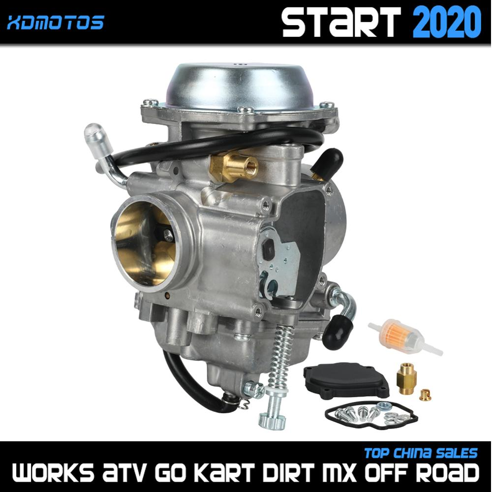 PD34J 34mm <font><b>Carburetor</b></font> For Polaris Sportsman 300 335 400 <font><b>450</b></font> 500 600 700 MV7 4x4 ATV Quad UTV All Terrain Vehicle Parts Carbs image