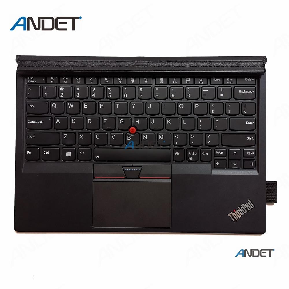 Used For Lenovo ThinkPad X1 Tablet 2nd Gen 20JB 20JC Backlit US Keyboard Thin Palmrest Bottom Base Cover Touchpad TP00082K3