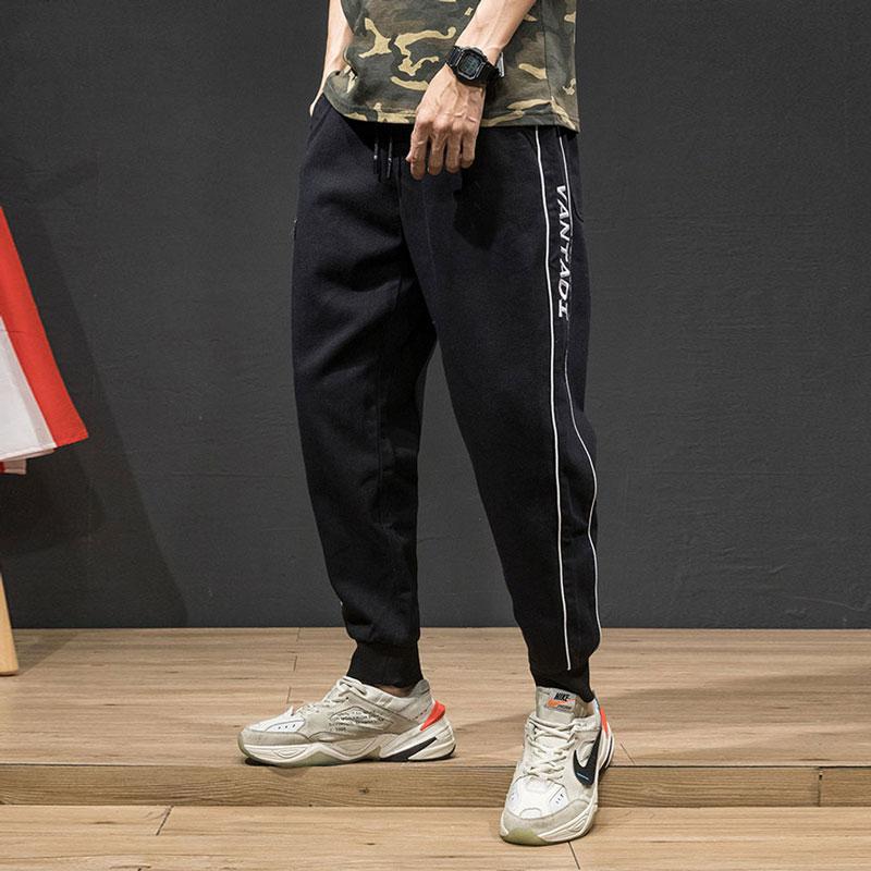Fashion Streetwear Men Jeans Loose Fit Camouflage Casual Cargo Pants Men Spliced Designer Slack Bottom Hip Hop Joggers Pants