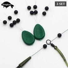 3 комплекта = 18 шт., бусины-Стопперы для ловли карпа