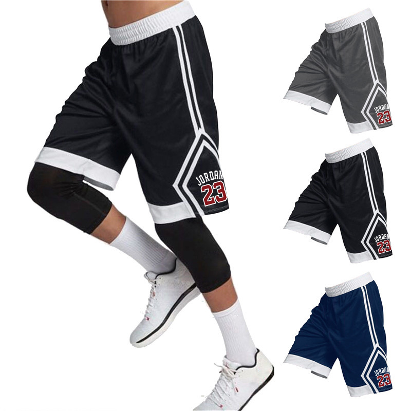 Outdoor Sports Fitness Quick-drying Shorts Gym Fitness Casual Shorts Brand Clothing Jordan 23 Shorts Fitness Running
