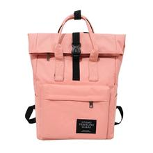 Women Preppy Large Backpack Canvas Travel Backpack Male Mochila Escolar Girls Laptop Backpack School Bags Backpack for teens