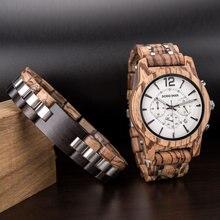 Relogio Mascul DODO DEER Wood Watch For Men stainless steel