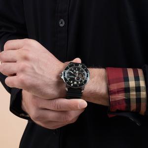 Image 3 - リーフ虎/rtスポーツ腕時計男性ナイロンストラップ自動スーパー発光鋼ダイブウォッチ日付RGA3035