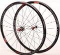 Ультра светильник bmx набор колес для шоссейного велосипеда 700C 30 мм 4 герметичных подшипника V тормоза колеса для велосипеда из алюминиевого ...