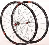 Ultra light bmx Road bike wheel set 700C 30MM 4 Sealed Bearing V Brake Aluminium Alloy Bicycle Wheels 8 9 10 11 Speed Wheelset