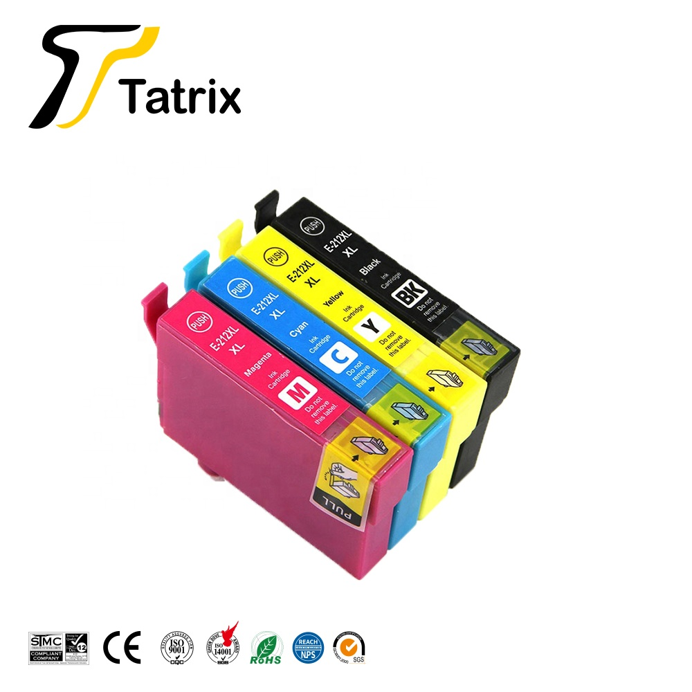 Tatrix  T212XL  E-212XL Premium Color Compatible Ink Cartridge ForExpression Home XP-4100/XP-4105,WorkForce WF-2830/WF-2850