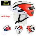 Велосипедный шлем Flux Red Road Bike Helmet Велоспорт Mtb Мужская Спортивная Кепка Aero Tld Wilier Radare D