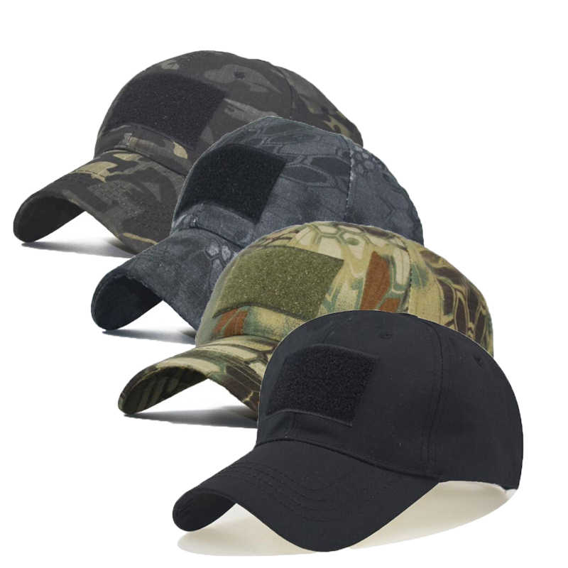 Tactical Army Cap Outdoor Sport Snapback stripe Military Caps Camouflage Hat Kryptek Multicam Black Airsoft Hunting Baseball Cap