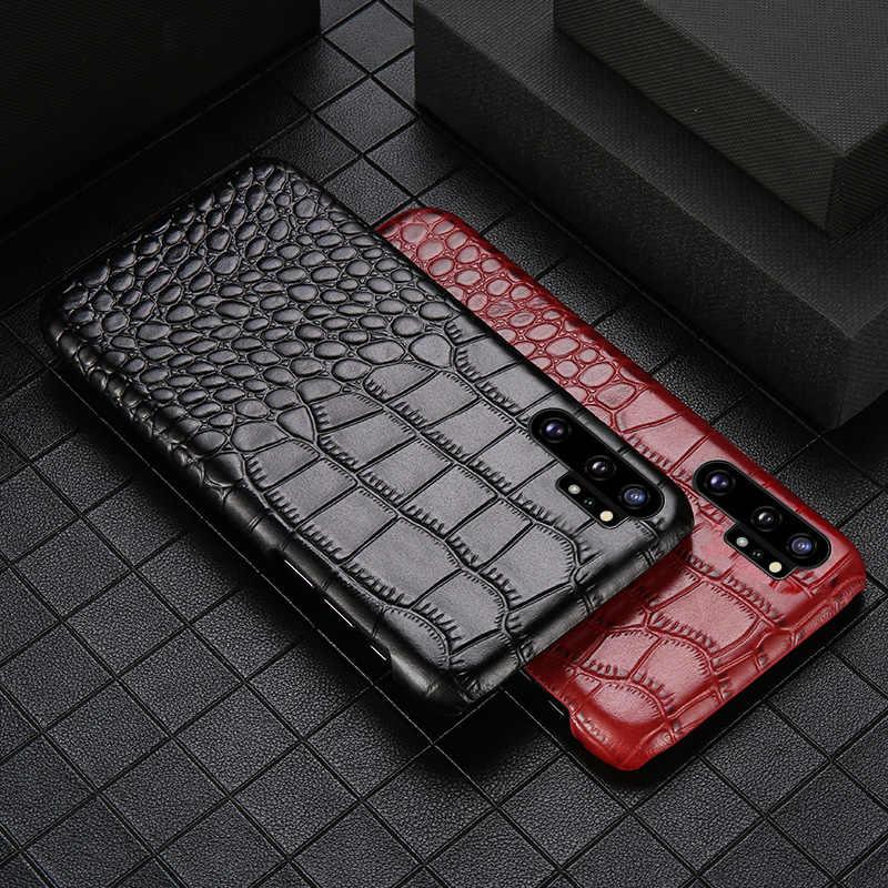 Подлинный кожаный чехол для мобильного телефона для samsung Примечание 10 10 Pro S10plu S7 S8 S9 плюс A70 A50 A8 A9 2019 J7 J5 Защитная крышка