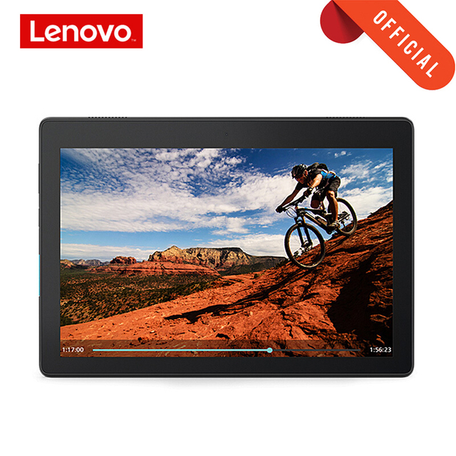 """Lenovo Tablet 10,1 """"HD Screen 2GB 16GB Dual Kamera Computer Tablet Dual Stereo Dolby Sound Wirkung 4850mAh Android 9,0 Wi Fi"""