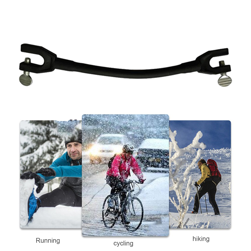 Winter Elastic Clip Protection Training Control Speed Beginner Ski Tip Connector for Outdoor Exercise Sport Decoration