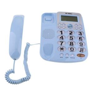 Image 5 - Teléfono fijo con cable Universal, escritorio de negocios para el hogar y la Oficina, 2019 nuevo, de alta calidad