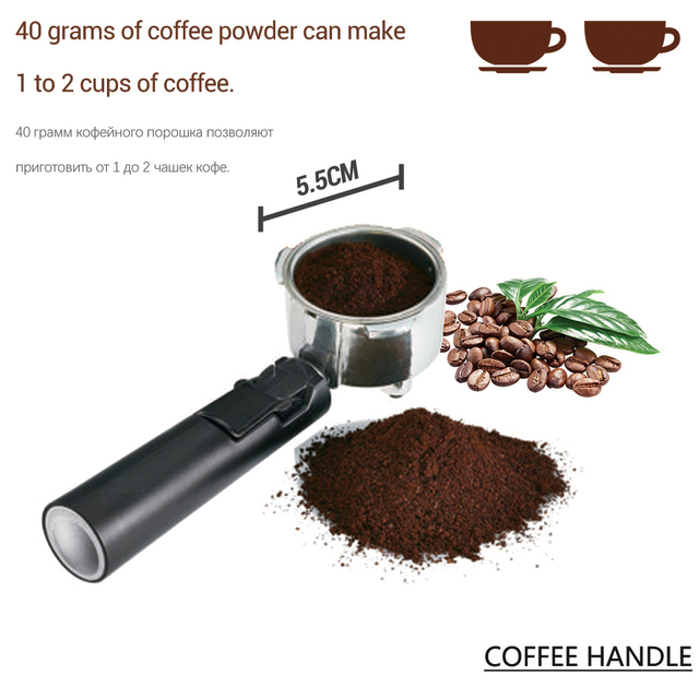 1.6L Espresso Electric Coffee Machine Express Electric Foam Coffee Maker Electric Milk Frother Kitchen Appliances 220V Sonifer 3