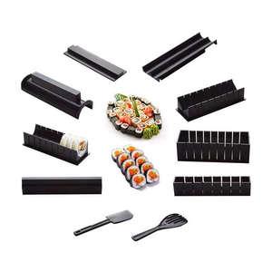 10 photos/ensemble bricolage Sushi fabricant Onigiri moule riz moules Kits cuisine Bento accessoires outils