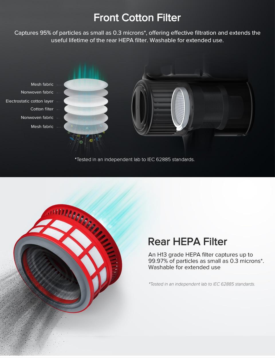 Roborock Handheld Wireless Vacuum Cleaner H6