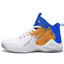 New Man Basketball Shoes Comfortable High-top Gym Training B