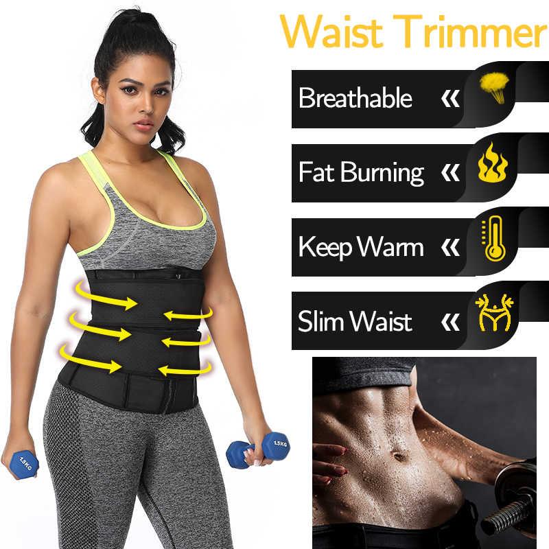 Corsé de látex para adelgazar la pérdida de peso del entrenador de la cintura faja de deporte Fajas delgadas correas de modelado