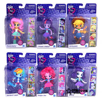 Genuine12cm Dolls My Little Pony Toys for Girls Rainbow PVC Action Figure Anime Baby Toys for Children My Little Pony Birthday