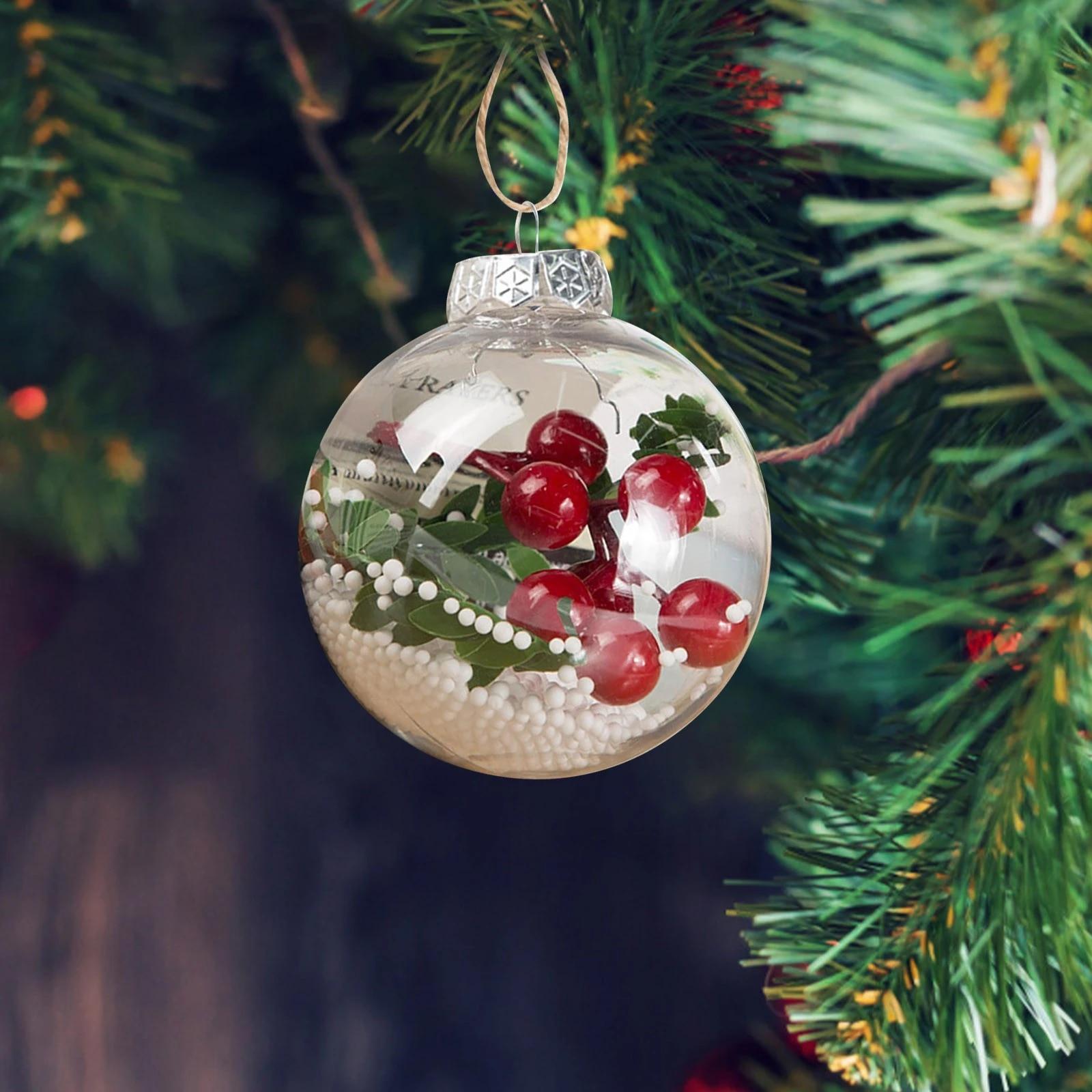 Christmas Ball Decoration Christmas Tree Decoration Shatterproof ...