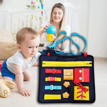 32*28cm Toddlers Busy Felt Board Baby Toys Montessori Basic