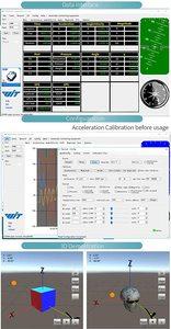 Image 5 - WitMotion WT61 6 محور AHRS الاستشعار الرقمية الميل زاوية الميل + التسارع + الجيروسكوب MPU6050 وحدة على PC/الروبوت/MCU