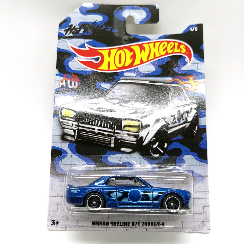 Hot Wheels 1:64 Car NISSAN SKYLINE HONDA CIVI Collector Edition Metal Diecast Model Cars Kids Toys Gift