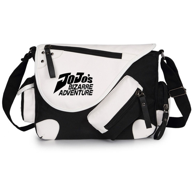 JoJo's Bizarre Adventure Bags Kujo Jotaro Cosplay Backpack Giorno Giovanna Crossbody Bag Golden Wind Student Schoolbag 3