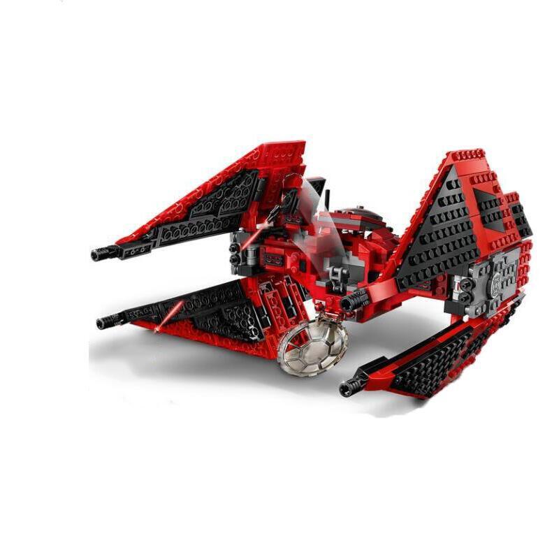 New Starwars 75240 Red Tie Fighter Building Blocks With Star Wars Children Toy