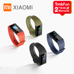 In Stock 2020 New Xiaomi Redmi Band 1.08 Inch Color Touch Screen Heart Rate Monitoring Record Step Count Fitness Smart Wristband