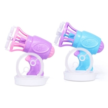 2 набора пузырьковая игрушка воздуходувка игрушка для мыльных пузырей мультяшный Подарок детская рука пузырьковая воздуходувка(фиолетовый и синий