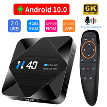 HONGTOP tv box android 10 android tv box youtube netflix 6K HD 1080P media player google store 2.4G&5G WiFi tv box 4gb 32gb 64gb(China)