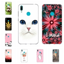 For Huawei Y5 2019 Y6 2018 Y7 Case TPU Mate 20 lite Cover Cute Patterned II Honor 5 7A Pro Capa