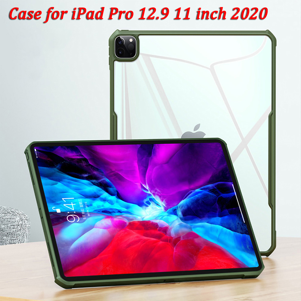 Case For IPad Pro 12.9 11 2020 Case Anti-fall Airbag Tablet Back Protection Shell Soft Cover For IPad Pro 12.9 Case 2020 Cover