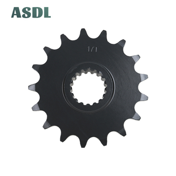 525 17T Motorcycle Rear Front Chain Sprocket For BMW F650GS 2008-2012 SE F700 GS F800 GS Adventure #ce image