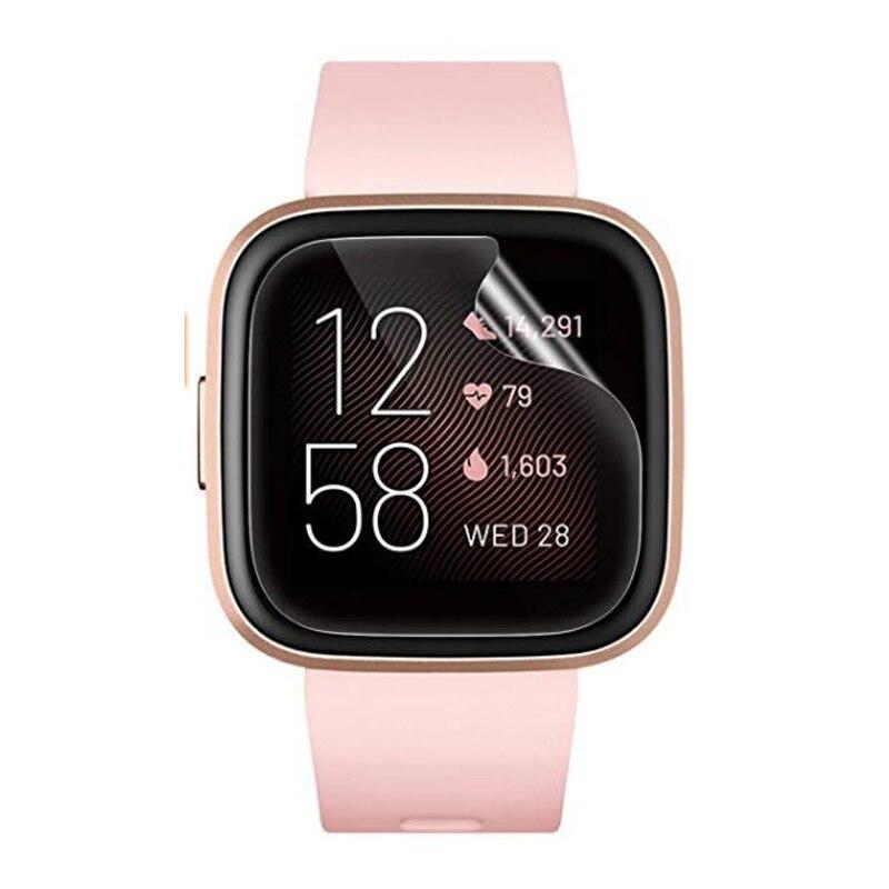 5 шт., мягкая ТПУ Прозрачная защитная пленка, Смарт-часы для Fitbit Versa 2 versa2, Смарт-часы, защитная пленка на весь экран (без стекла