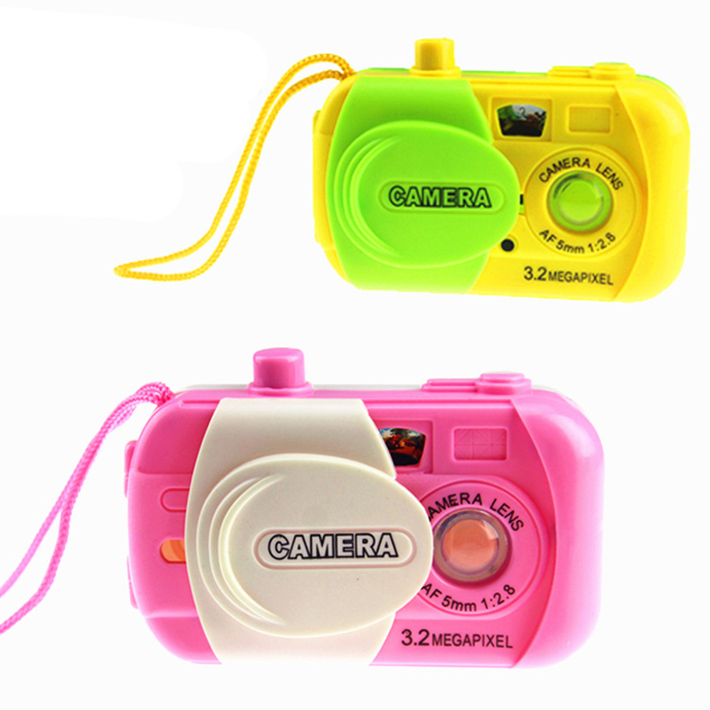 NEW Mini Camera Toy Kids Children Baby Learning Study Educational Toy Projection Camera Unisex Christmas Gifts