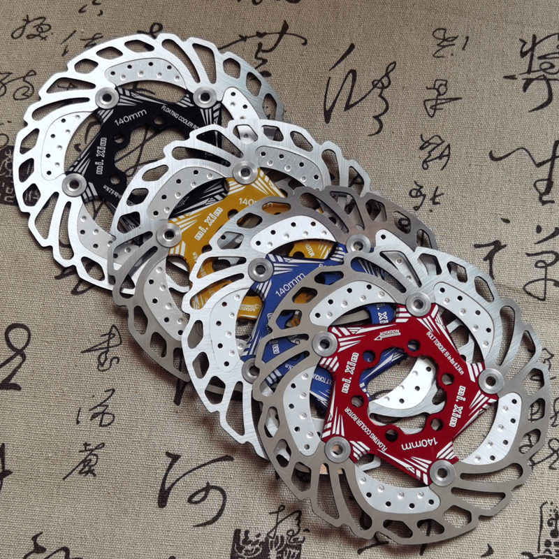 New Bicycle Brake Cooling Disc Floating Ice Rotor For MTB Road Bike 203mm 180mm 160mm 140mm Cool Down Rotor vs RT99 RT86