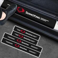 Protector Sticker Rexton Ssang Yong Rodius Kyron Korando Car-Carbon-Fiber for Actyon