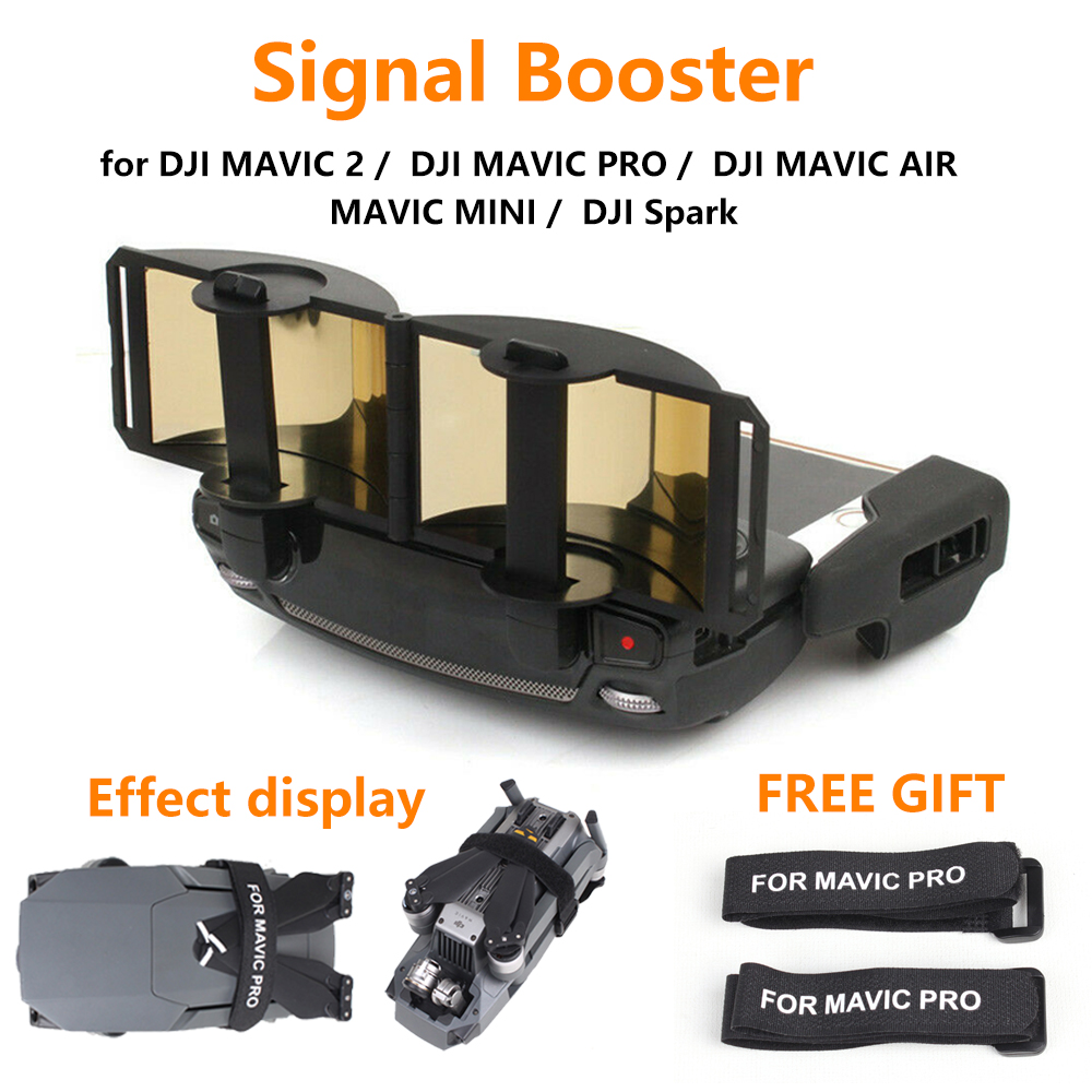 Remote Controller Signal Booster For DJI MAIVC Mini /  2 / PRO /AIR / Spark Drone Antenna Amplifier Extender Accessories
