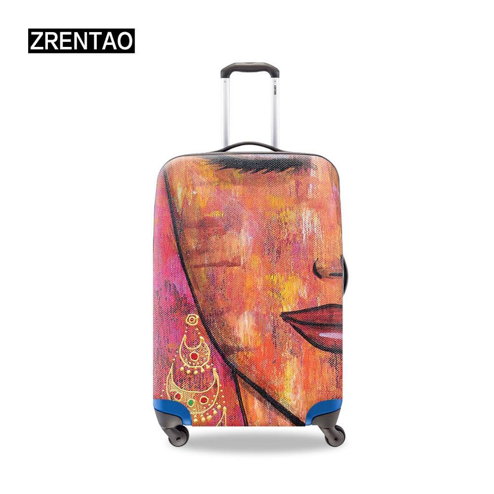 Африканские девушки печати S/M/L/XL водонепроницаемый багажный набор защитные чехлы мужские/женские Путешествия Отдых защита багажа