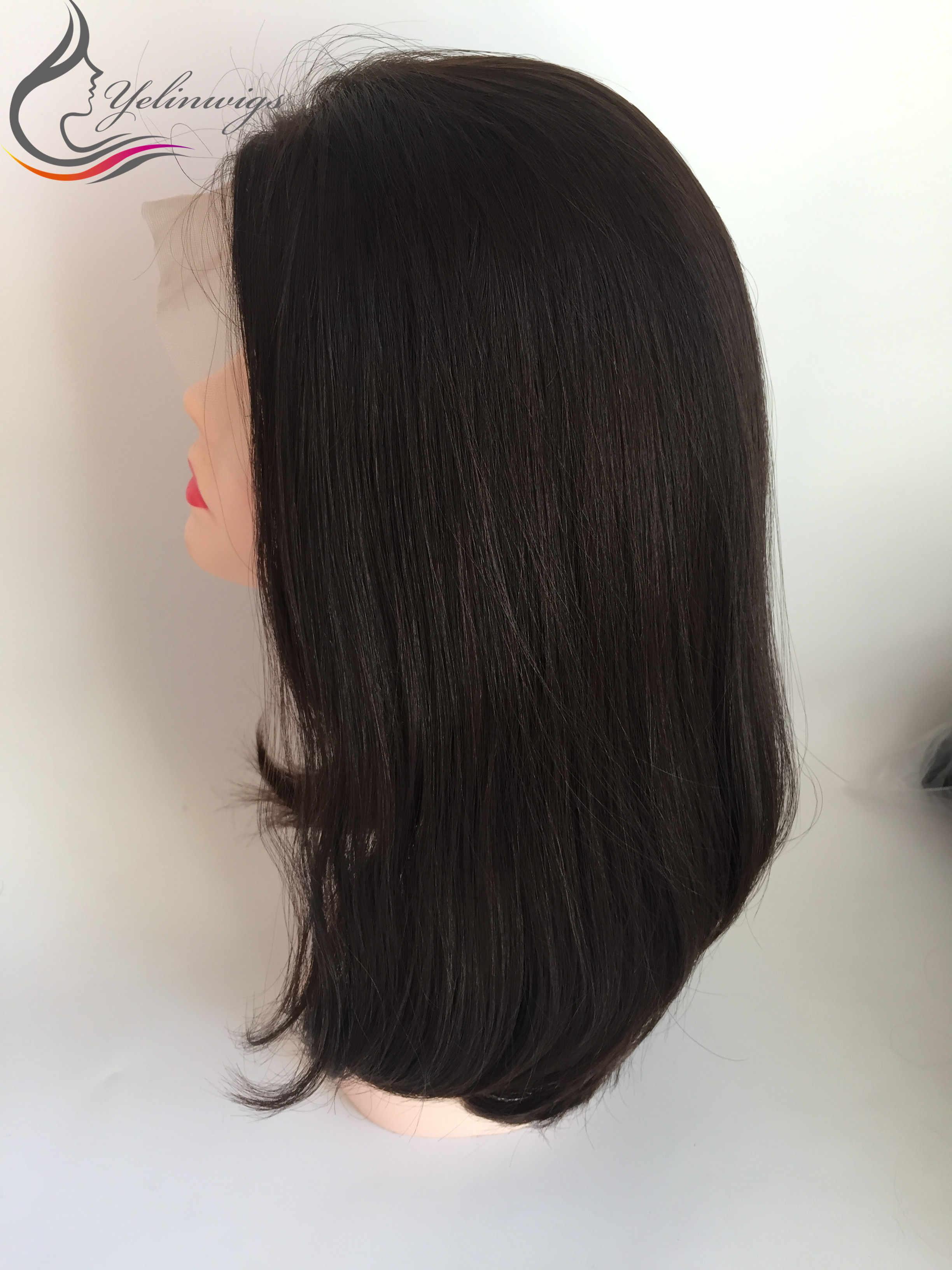 Popularny 100% żydowski koronkowy top peruki dobrej jakości europejski włosy żydowska koszerna peruka Sheitels