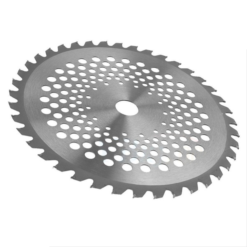 Angle Grinder Blade Cutting Circular Saw Blade Rotary 10'' 40 Teeth Bore Dia. 25.4mm Carbide Tip Blade For Brush Cutter Trimmer