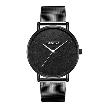 Men Women Fashion Casual Quartz Watch Ceasuri Stainless Steel Mesh Band Luxury Business Clock Gift Drop Shipping Montre homme creative dial display women watch lady casual fashion clock stainless steel mesh band desgined quartz watch female gift shengke