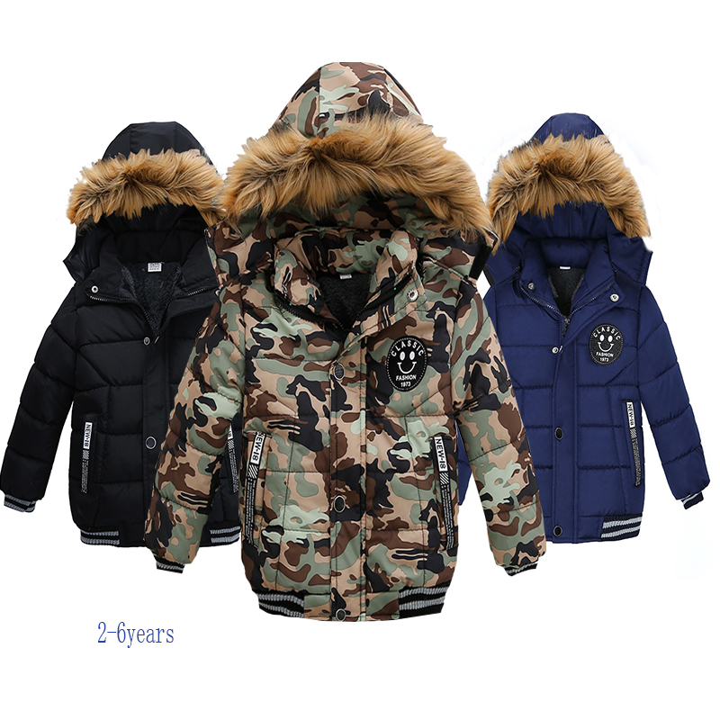 2021 NEW High Quality Winter Child Boy Down Jacket Parka Big Girl Thicking Warm Coat 2 3 4 5 6 Year Light Hooded Outerwears 1