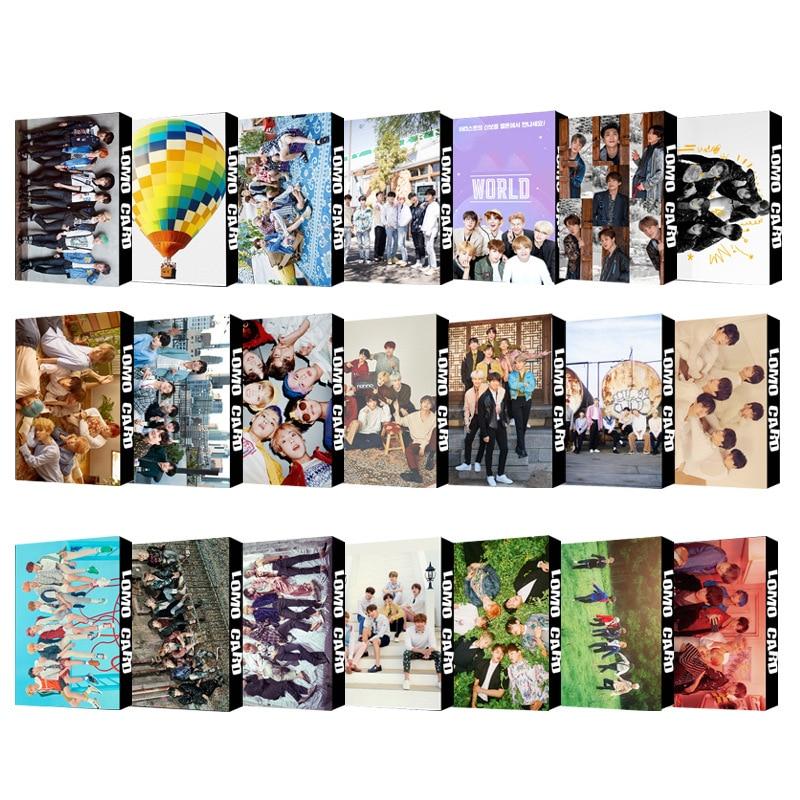 Новинка KPOP группы Южной Кореи Bangtan Boys Альбом Плакат ломо карты карта души 7 коллекционная карточка Фотокарточка ЛОМО карточки подарок