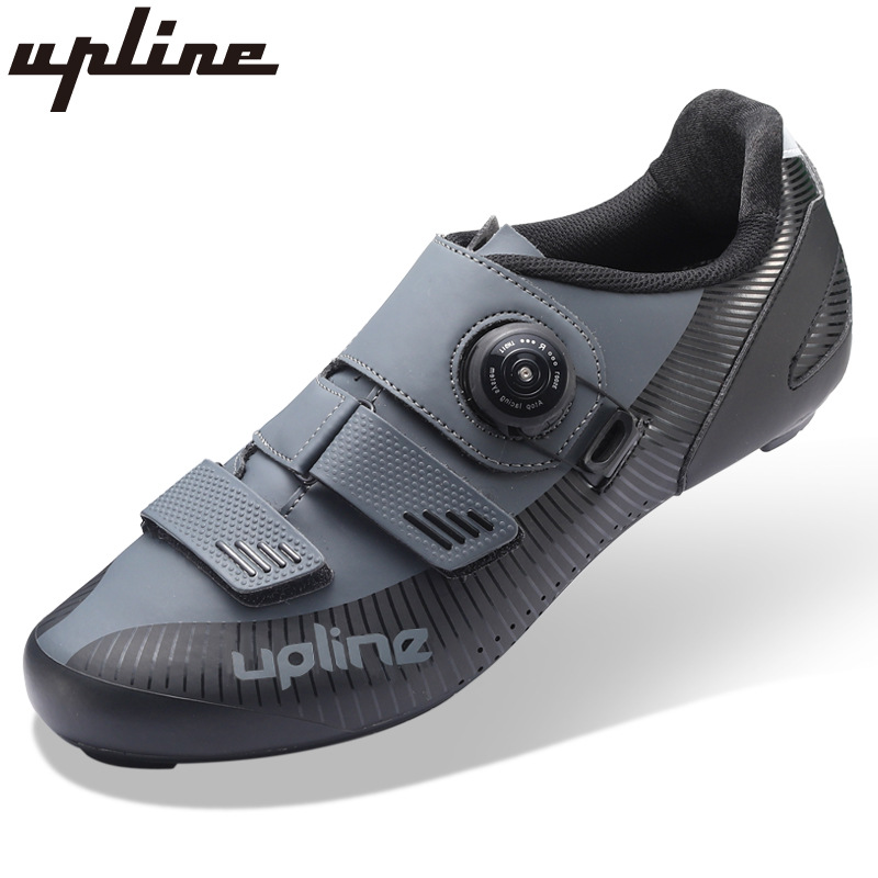 road cycling shoes men racing road bike shoes self-locking atop bicycle speakers athletic ultralight professional black