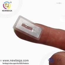 14443A 13,56 MHZ NTAG213 RFID NFC programador pegatina Chip etiqueta Universal pequeño tamaño [11*21mm] transparente etiqueta Ruby Amiibo 10 Uds
