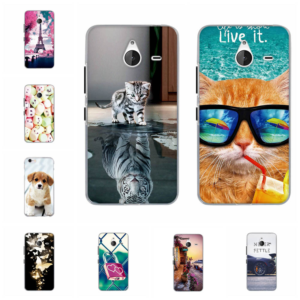 For Nokia Microsoft Lumia 640 XL 5.7 Case Cover Silicone TPU Capa for Nokia Lumia 640XL Case Funda For Nokia Lumia 640 XL Cover image